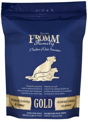 Fromm Gold Reduced Activity & Senior 5lb