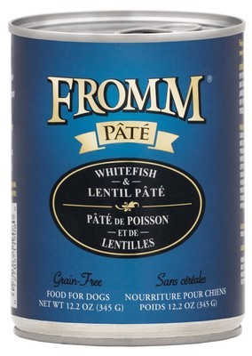 Fromm Pate Whitefish & Lentil 12.2oz