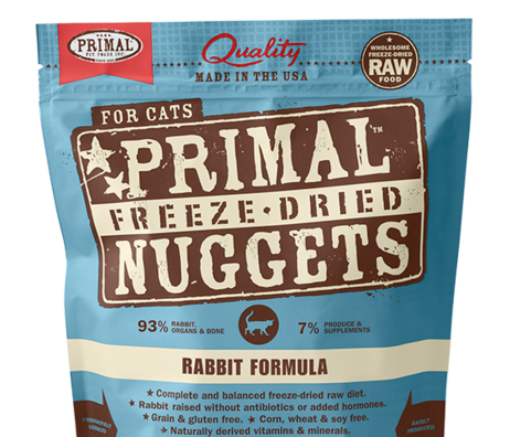 Primal FD Cat Nuggets 5.5oz Rabbit