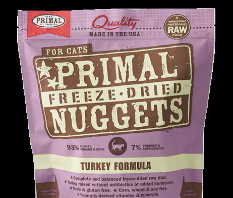 Primal FD Cat Nuggets 5.5oz Turkey