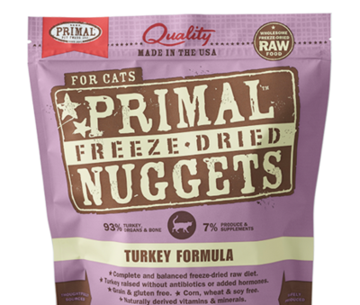 Primal FD Cat Nuggets 5.5oz Turkey