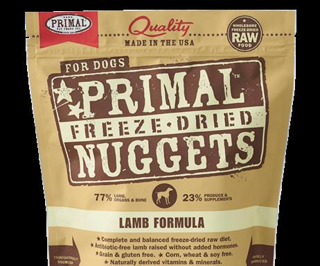 Primal FD Dog Nuggets 5.5oz Lamb