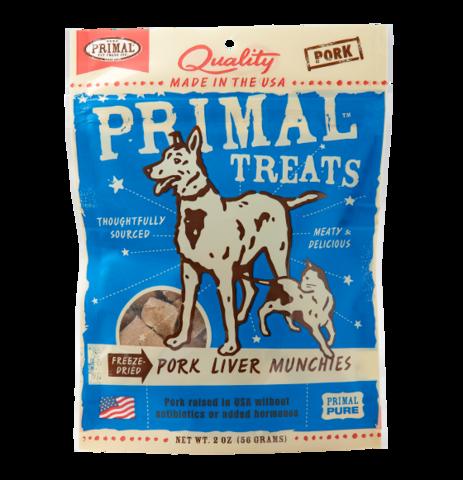 Primal FD Liver Munchies 2oz Pork