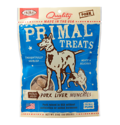 Primal FD Liver Munchies 2oz Pork