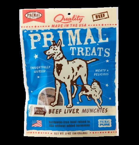 Primal FD Liver Munchies 2oz Beef