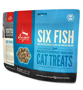 Orijen Treats FD Cat 6Fish