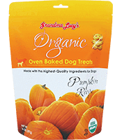 Grandma Lucy's Organic Baked Treats Pumpkin