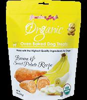 Grandma Lucy's Organic Baked Treats Banana & Sweet Potato