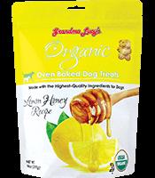 Grandma Lucy's Organic Baked Treats Lemon Honey