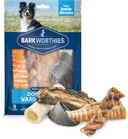 Barkworthies Variety Pack Medium Breed