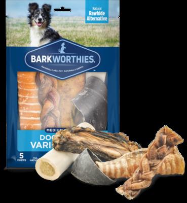 Barkworthies Variety Pack Medium Breed
