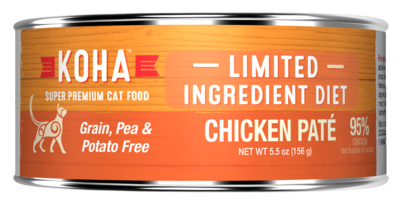 Koha GF LID for Cats 5.5oz Chicken