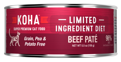 Koha GF LID for Cats 5.5oz Beef