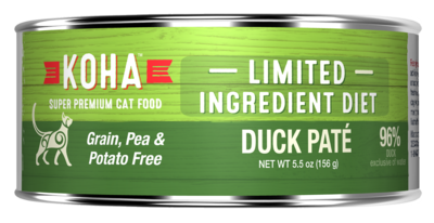 Koha GF LID for Cats 5.5oz Duck