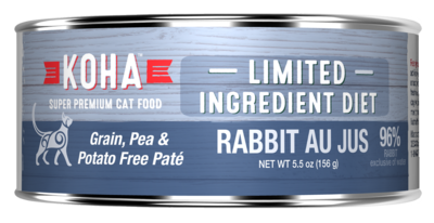Koha Cat LID Pate 3oz Rabbit