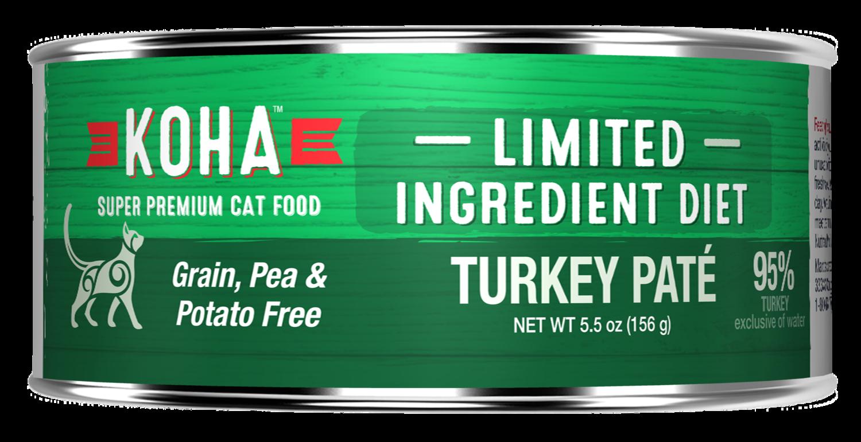 Koha GF LID for Cats 5.5oz Turkey