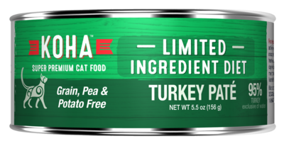 Koha GF LID for Cats 5.5oz Turkey