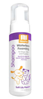 Nootie Waterless Foaming Shampoo Soft Lily Passion