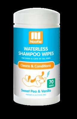 Nootie Waterless Shampoo Wipes Sweet Pea & Vanilla 70ct.