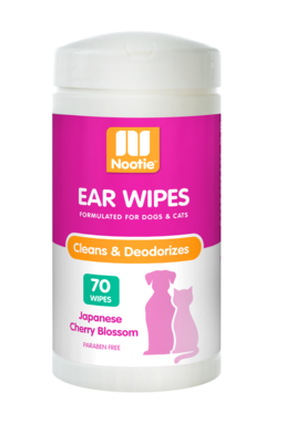 Nootie Ear Wipes Japanese Cherry Blossom 70ct.