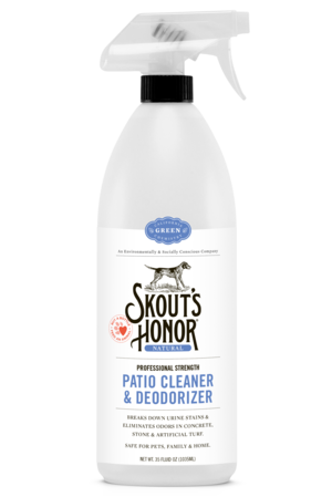 Skout's Honor Dog Patio Cleaner & Deodorizer 35oz.