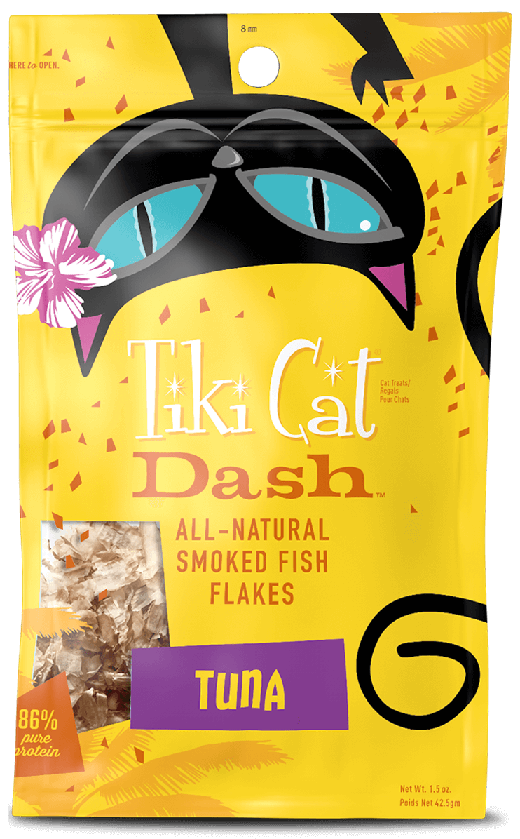 Tiki Cat Dash Tuna Flakes 1.5oz
