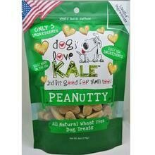Dogs Love Kale Dog Treats Peanutty 6oz