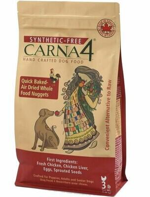 Carna4 Chicken Dog Food 3lb