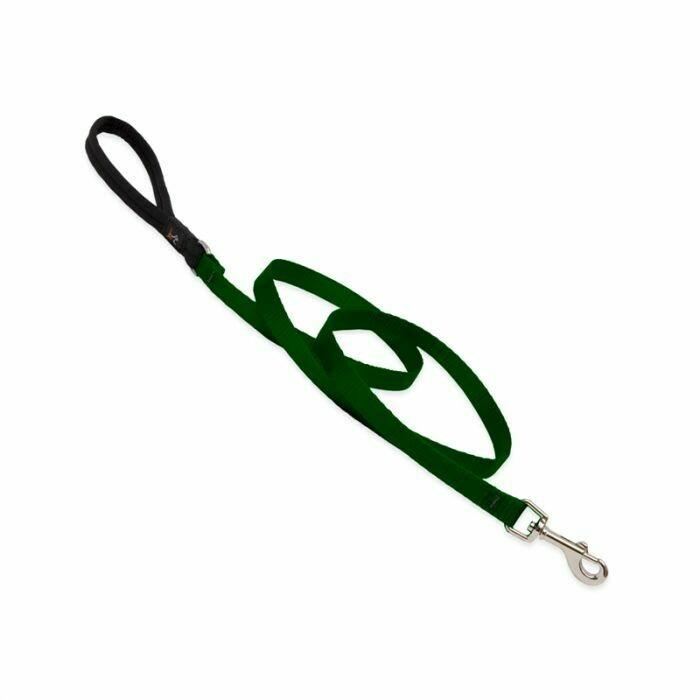 "Lupine Basics Leash 1"" Green"