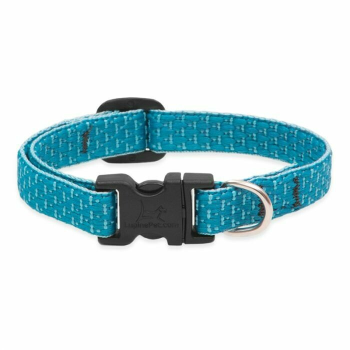 "Lupine Eco 3/4"" Collar 9-14"" Tropical Sea"