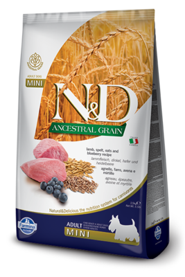 Farmina Dog Ancestral Grain 5.5lb Adult Mini Lamb