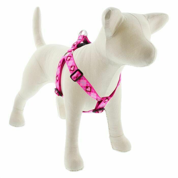"""Lupine Dog Originals 3/4"""" Step-in Harness 20-30"""" Puppy Love"""