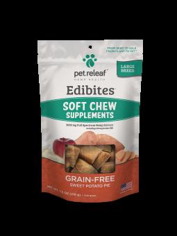 Pet Releaf Soft Chews Large Breed Sweet Potato