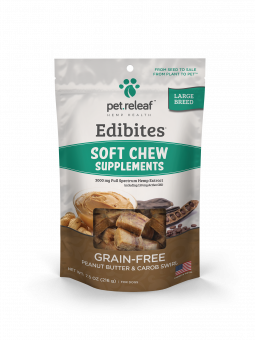 Pet Releaf Soft Chews Large Breed Peanut Butter