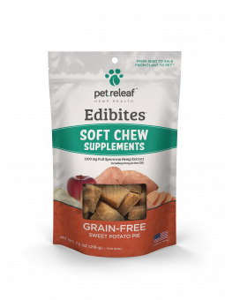 Pet Releaf Soft Chews Trial Sweet Potato Pie