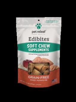 Pet Releaf Soft Chews Trial Sweet Potato Pie