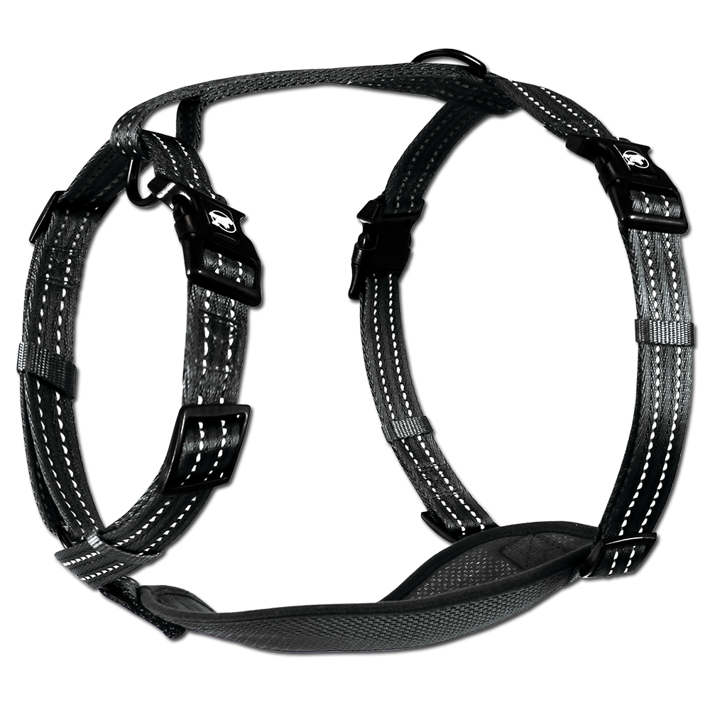 Alcott Adventure Reflective Harness Black Large