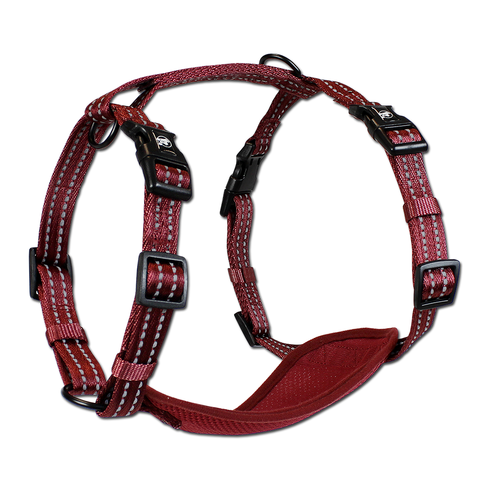 Alcott Adventure Reflective Harness Red Medium