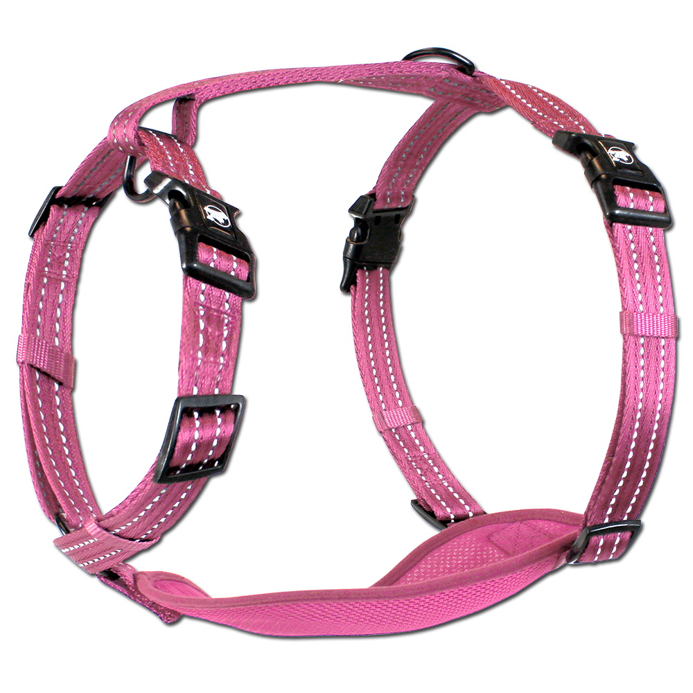 Alcott Adventure Harness Pink Large