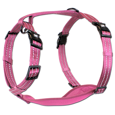 Alcott Adventure Harness Pink Large