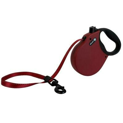 Alcott Large Retractable Reflective Red Leash 16'