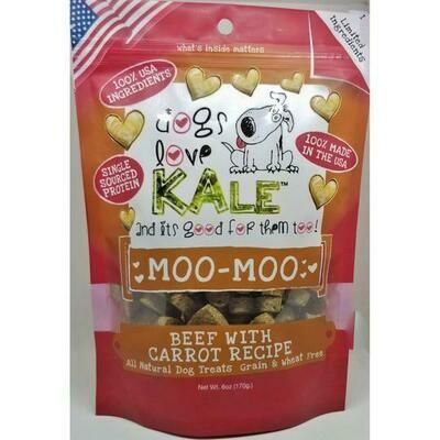 Dogs Love Kale Dog Treats Moo-Moo