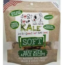 Dogs Love Kale Soft Treats Beef & Apple
