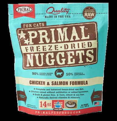 Primal FD Nuggets Chick Salmon 14 oz