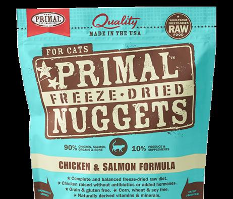 Primal FD Nuggets Chick Salmon 5.5oz