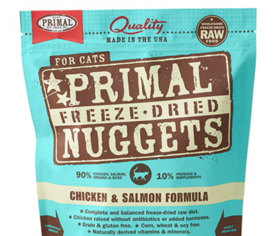 Primal FD Nuggets Chick Salmon 5.5oz