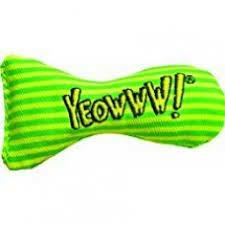 Yeowww Catnip Stinkies Green Stripe