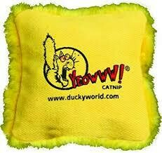 Yeowww Catnip Pillow Yellow