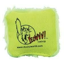 Yeowww Green Catnip Pillow