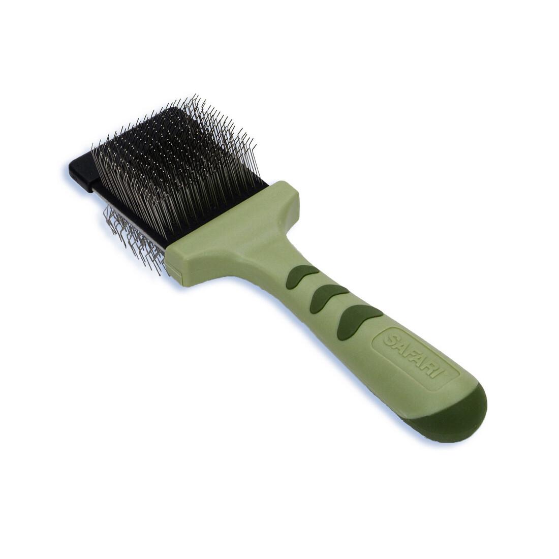 Safari Dog Flexible Slicker Brush - Small